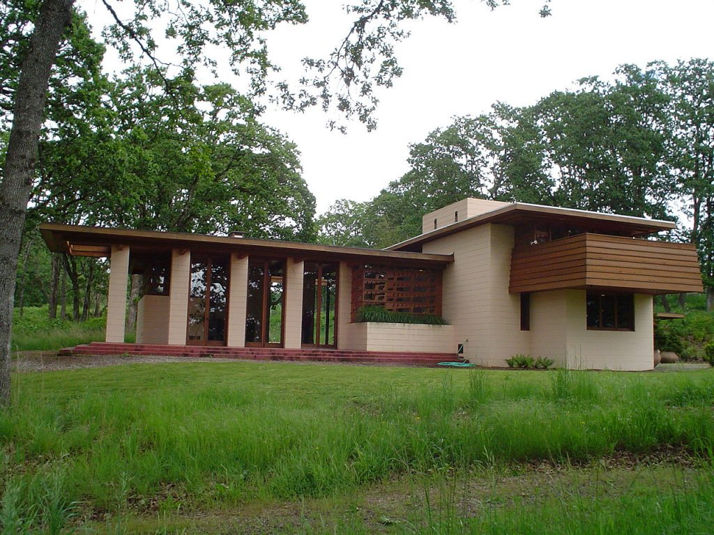 Usonian Style Craftsman Home